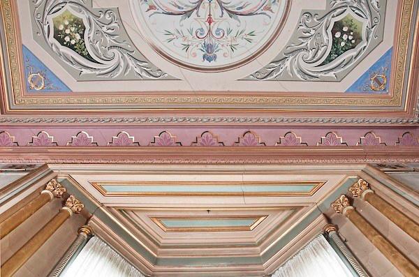 Ceiling, Drawing Room, Villa Alba